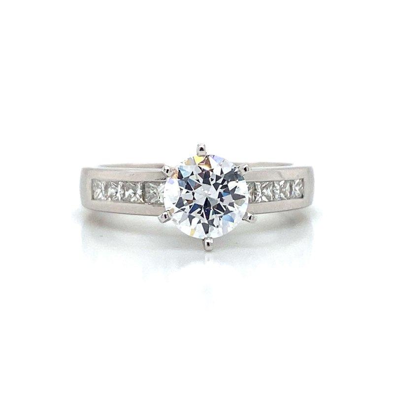 Robert Palma Designs Platinum Engagement Ring