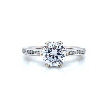 18k White Gold Ritani Ring