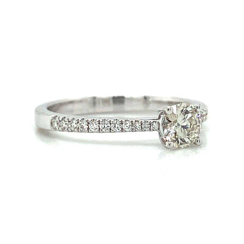 Robert Palma Designs 14k White Gold Diamond Engagement Ring