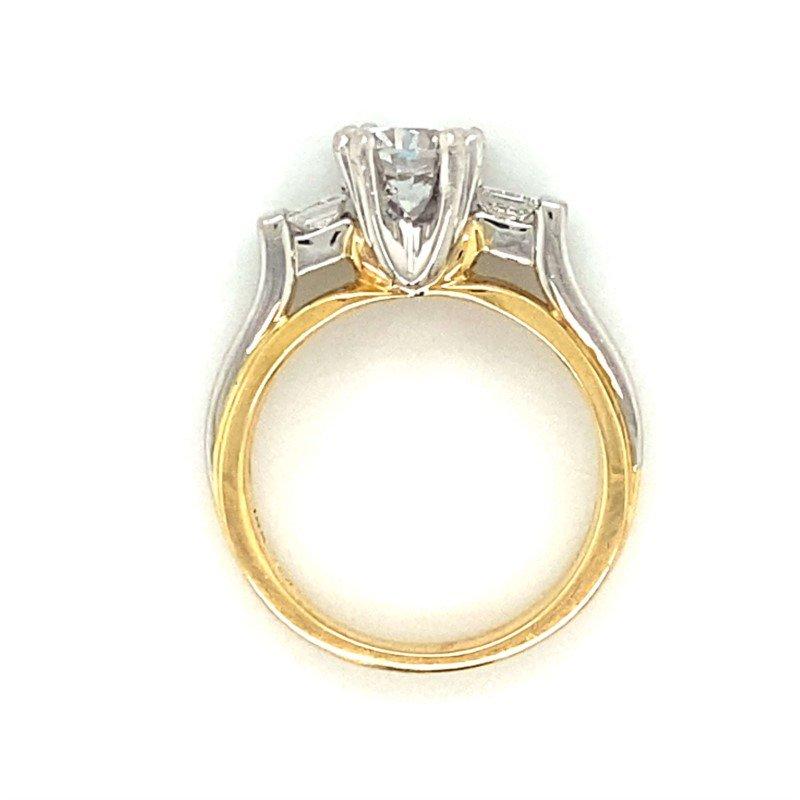 Robert Palma Designs Platinum & 18k Yellow Gold Ring