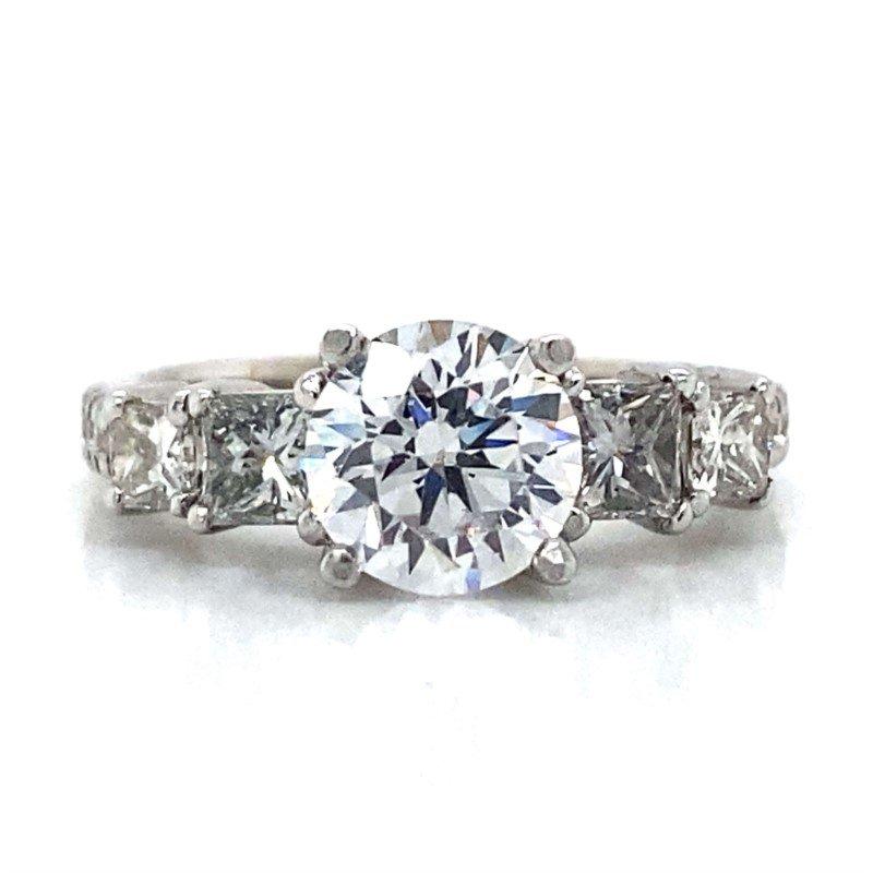Robert Palma Designs 18k White Gold Five Stone Ring