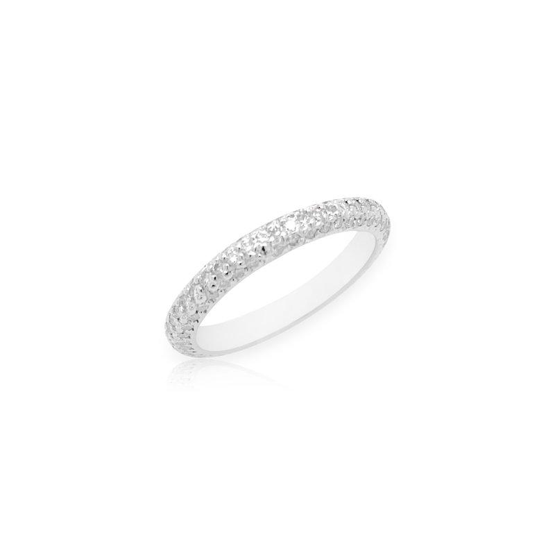 Robert Palma Designs Platinum Eternity Diamond Wedding Band