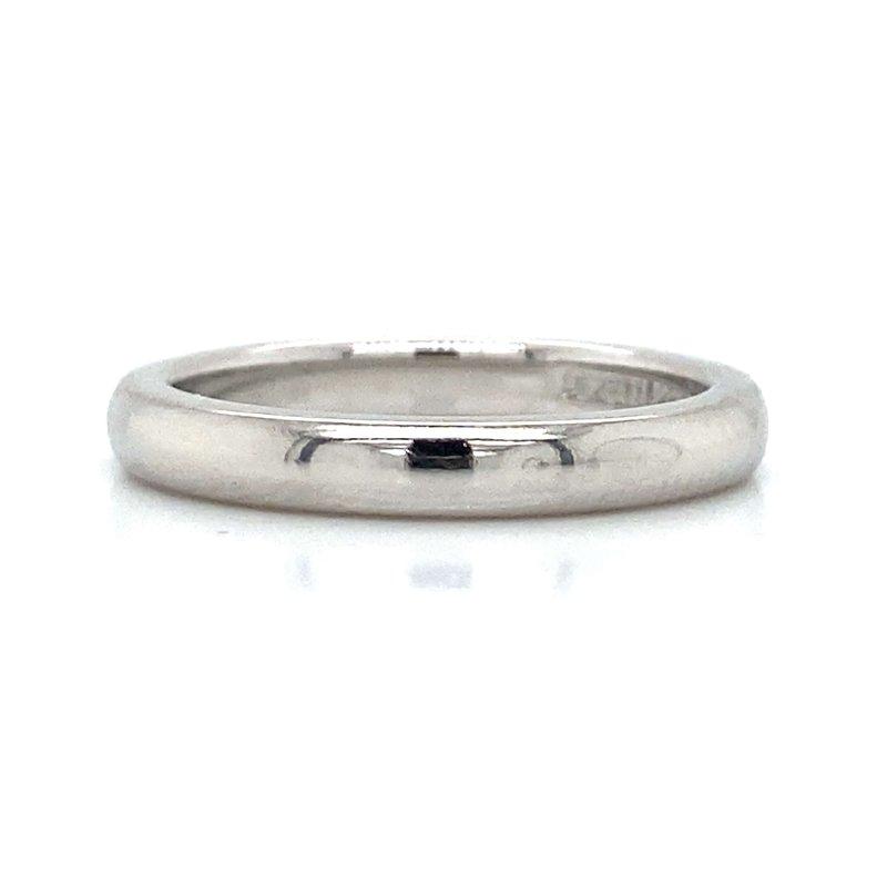 Robert Palma Designs Platinum Tiffany & Co. Band
