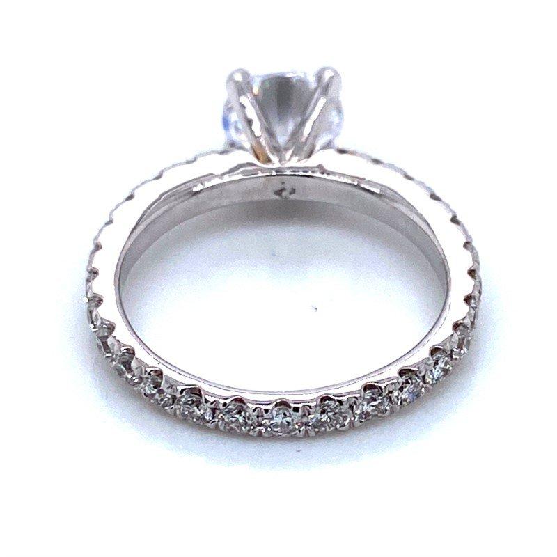 Robert Palma Designs 18k White Gold Eternity Wedding Ring