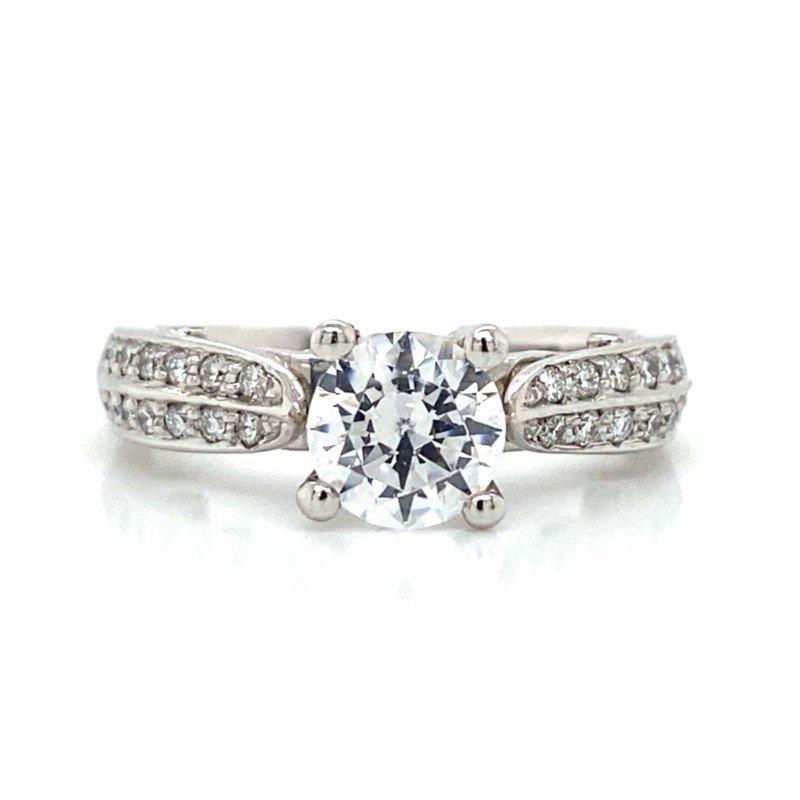 Verragio 18k White Gold Verragio Ring
