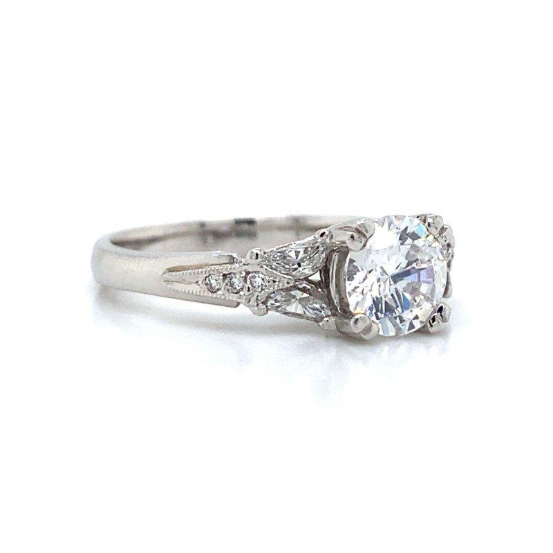 Robert Palma Designs Platinum Tacori Ring