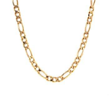 14K Figaro Chain