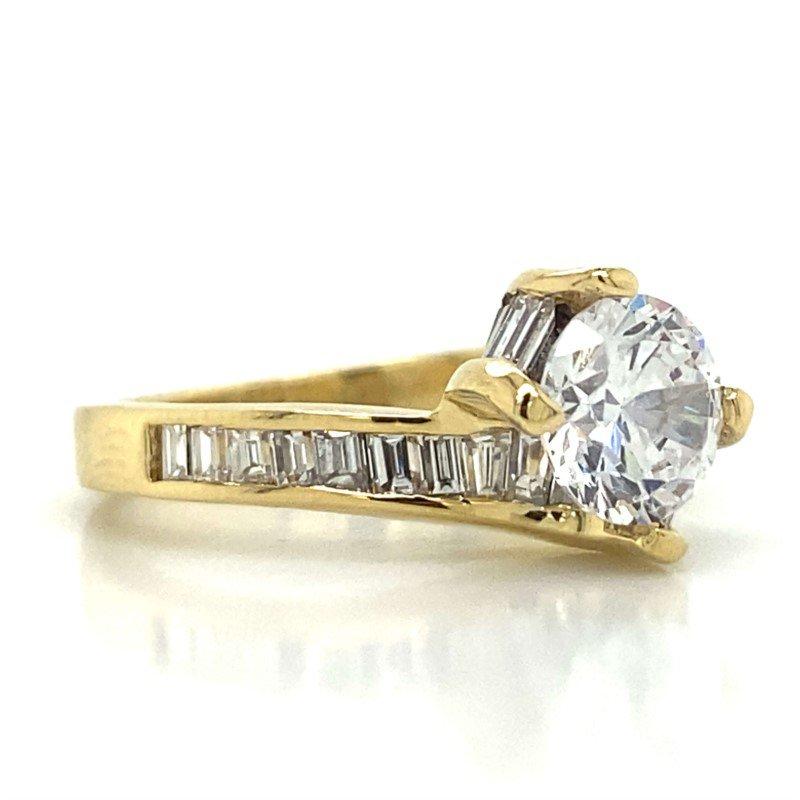 Robert Palma Designs 18k Yellow Gold Crossover Ring