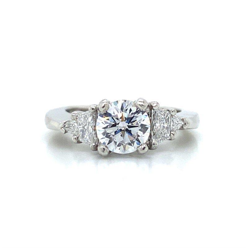 Robert Palma Designs Platinum Five Stone Diamond Ring