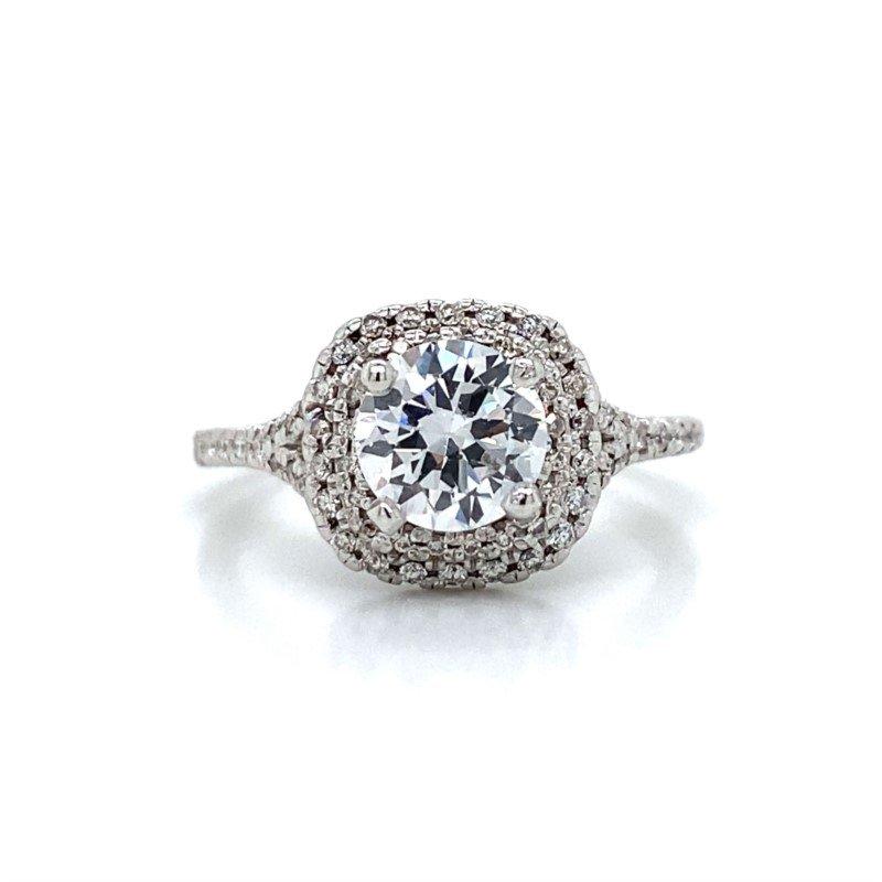 Robert Palma Designs 18K White Gold Diamond Ring