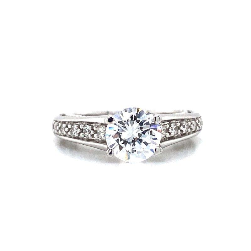 Verragio 18k White Gold Miligrain Verragio Ring