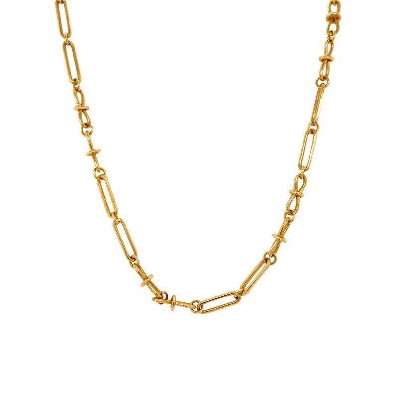Robert Palma Designs 18k Yellow Gold Open Link Chain
