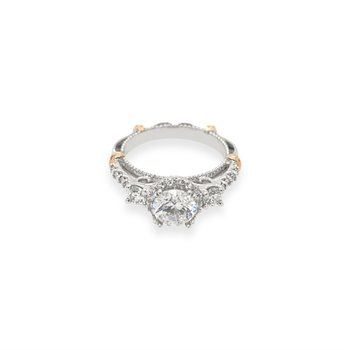 14k White and Rose Gold Verragio Ring
