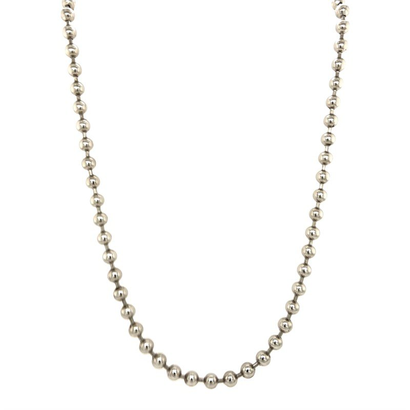 Robert Palma Designs Stainless Steel Bead Chain