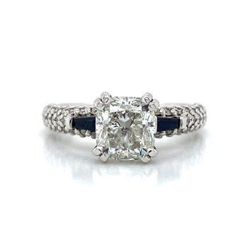 14K Scott Kay Diamond Ring