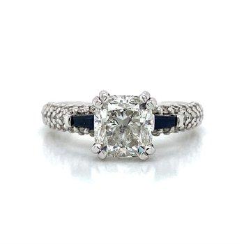 14K Scott Kay Diamond Ring