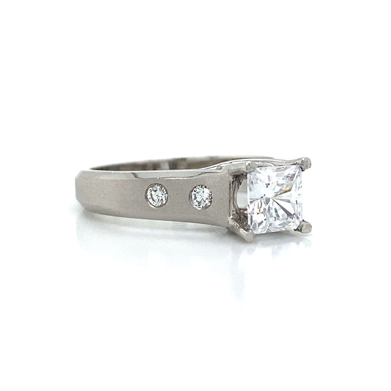 Robert Palma Designs Platinum Diamond Ring