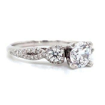18k White Gold Verragio Ring
