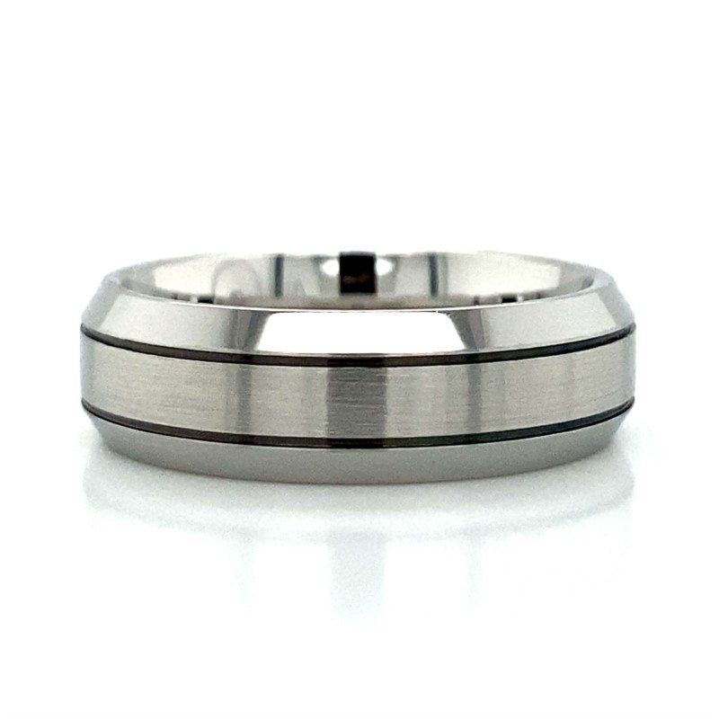 Benchmark Rings Cobalt Chrome & Tungsten Band