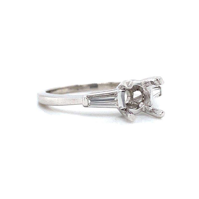 Robert Palma Designs Platinum Three-Stone Diamond Ring