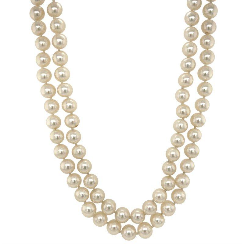 Robert Palma Designs Opera Length Pearl Necklace