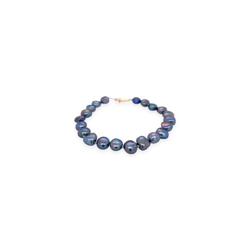 Robert Palma Designs Slate Grey Fresh Water Pearl Bracelet