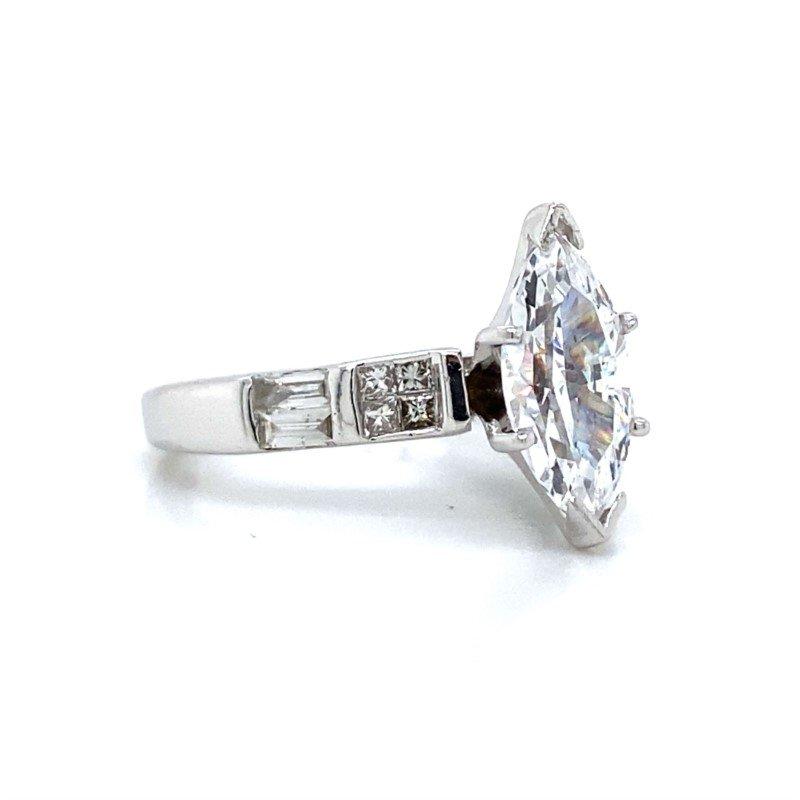 Robert Palma Designs 14k White Gold Ring