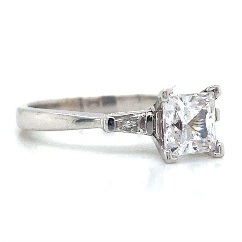 Robert Palma Designs 18k White Gold Engagement Ring