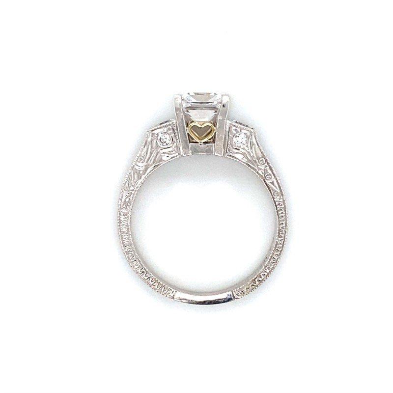 Robert Palma Designs 18k White Gold Diamond Engagement Ring