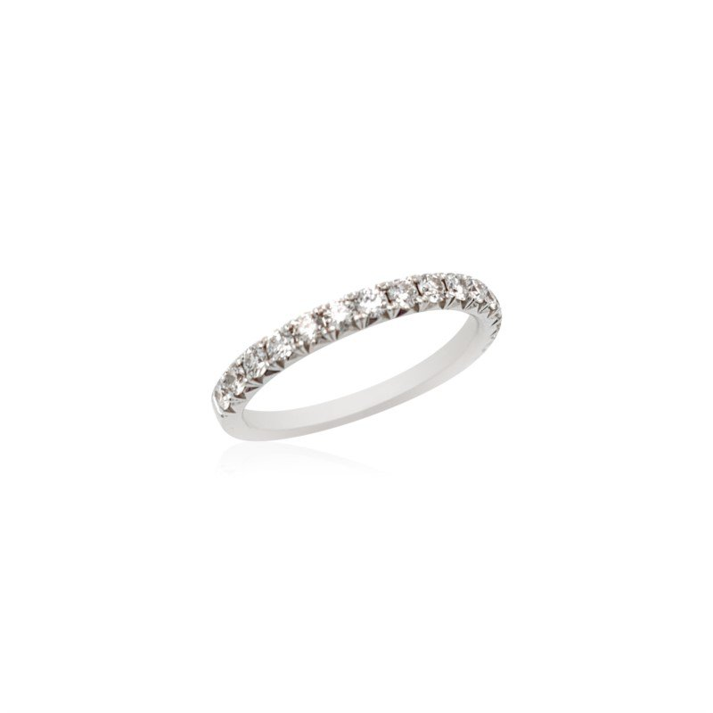 Robert Palma Designs 18k White Gold Diamond Band