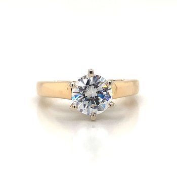 A simple six prong solitaire.