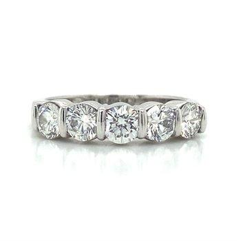 Platinum signed Tiffany & CO Wedding Band