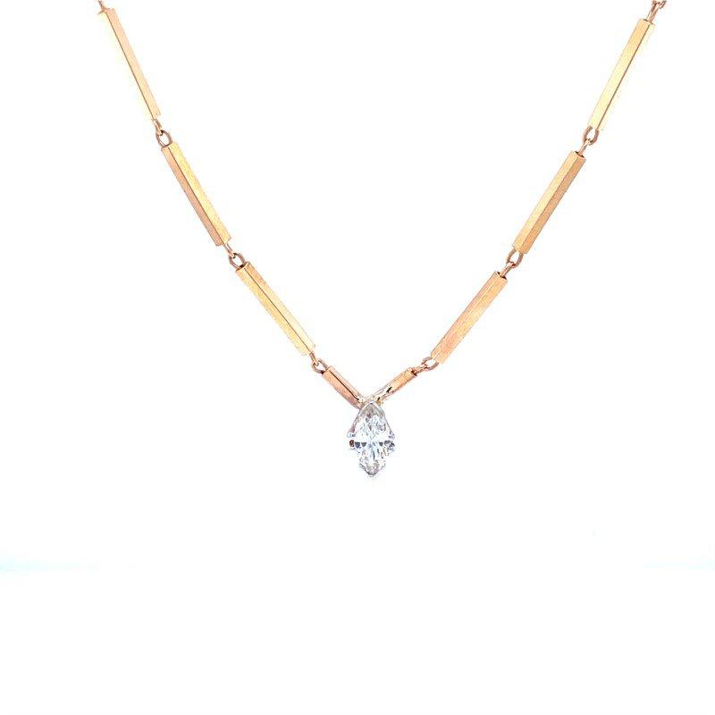 Robert Palma Designs 14k Yellow Gold Diamond Pendant