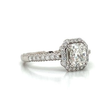 Verragio 18K Diamond Engagement Ring
