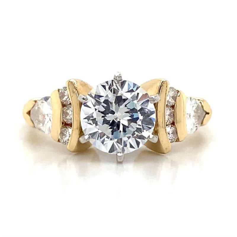 Robert Palma Designs 14k Yellow Gold Ring