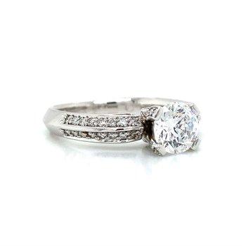 Platinum Verragio 4-Prong Ring