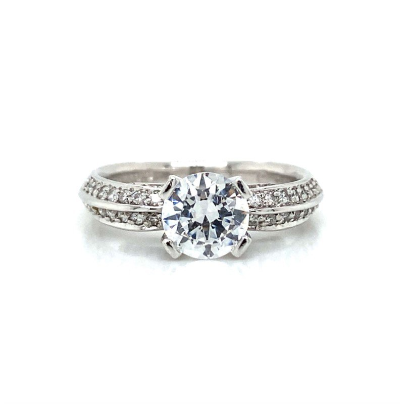 Verragio Platinum Verragio 4-Prong Ring