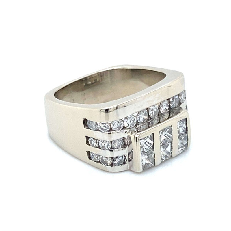 Robert Palma Designs 14K Diamond Fashion Ring