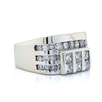 14K Diamond Fashion Ring