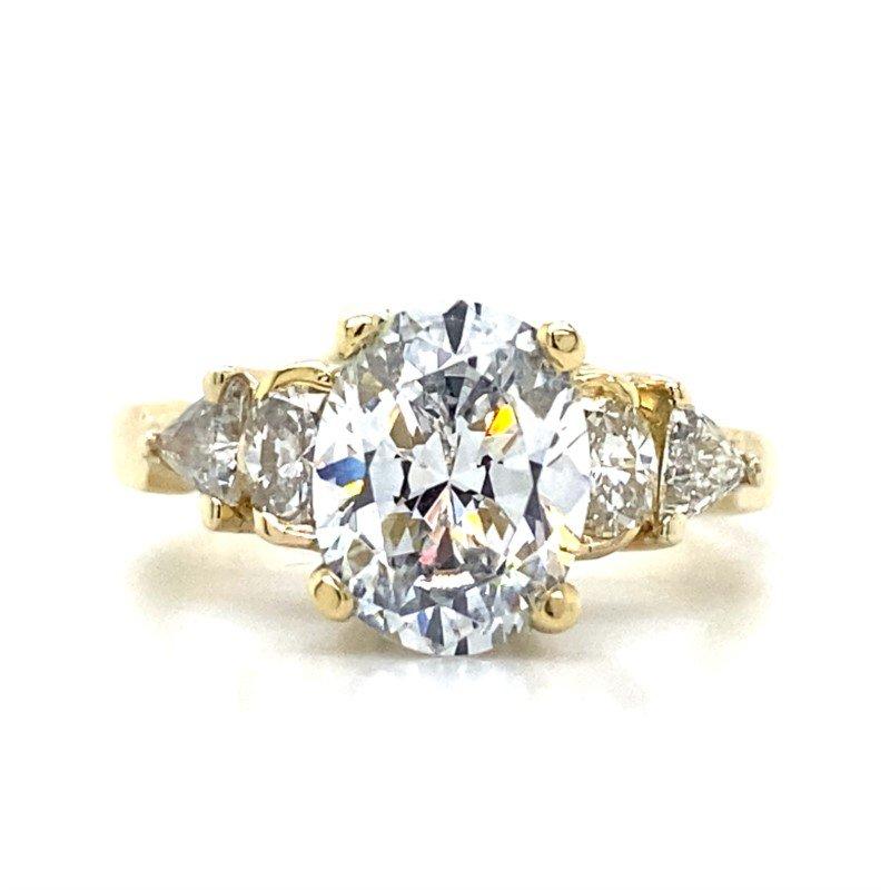 Robert Palma Designs 18K 5 Stone Diamond Ring