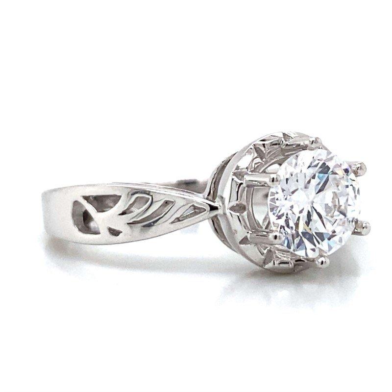 Robert Palma Designs 18k White Gold Ring