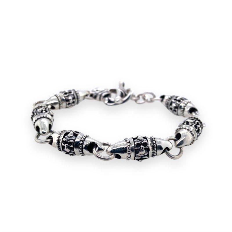 Robert Palma Designs Silver Barrel Bracelet
