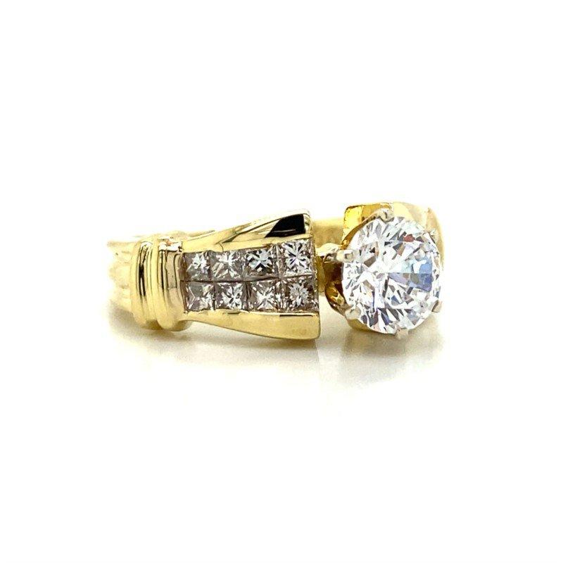 Robert Palma Designs 18k Yellow Gold Diamond Ring