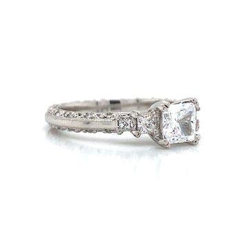 Platinum Tacori Five Stone Ring