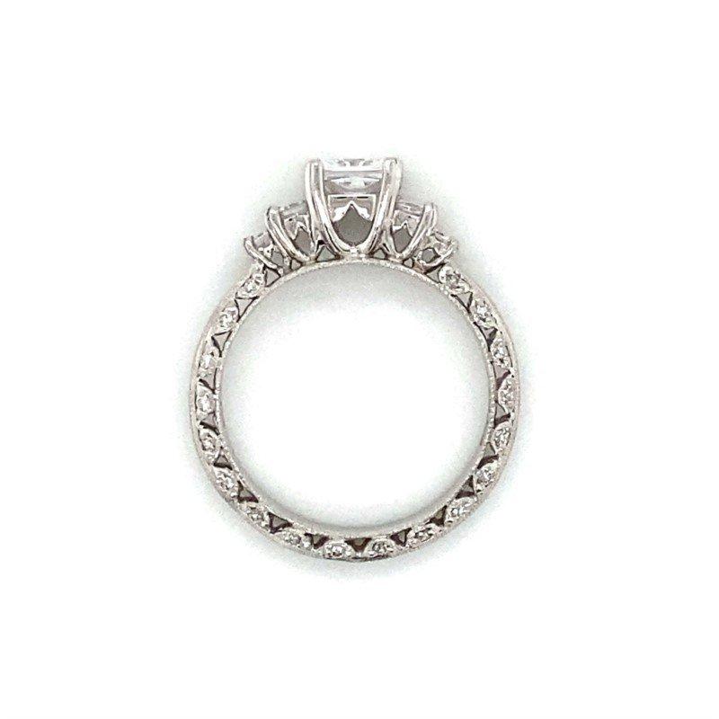 Robert Palma Designs Platinum Tacori Five Stone Ring