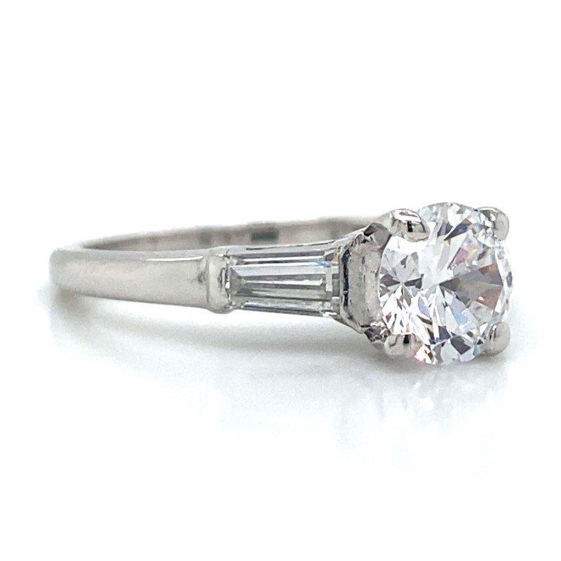 Robert Palma Designs Platinum Three Stone Ring