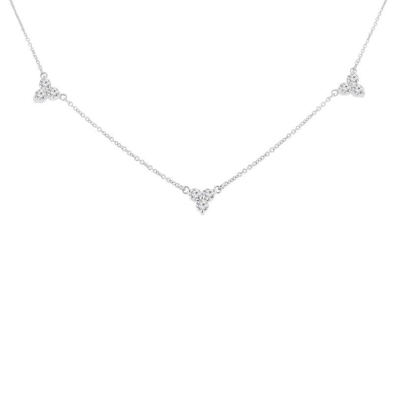 1ct tw Diamond Fashion Necklace in 14K White Gold
