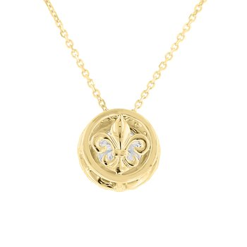 2ct tw NewBorn Lab Created Diamond Simply Love Collection Pendant in 14K Yellow Gold