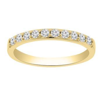 1/3ctw Diamond Anniversary Ring in 14K Yellow Gold