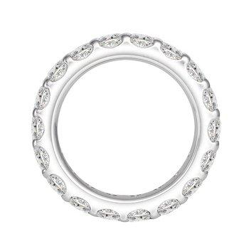 3ct tw Diamond Eternity Ring in 14K White Gold